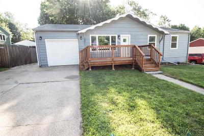 Sioux Falls SD Single Family Home Active-New: $189,900