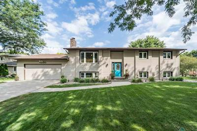 Sioux Falls Single Family Home For Sale: 4200 S Chestnut Cir