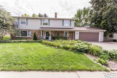 Sioux Falls Single Family Home For Sale: 2709 W Oak St