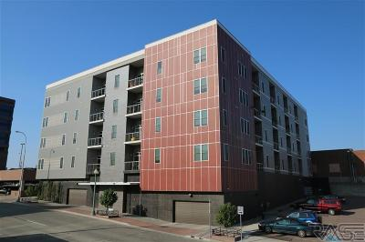 Sioux Falls Condo/Townhouse For Sale: 115 N Dakota Ave #413