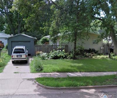 Sioux Falls Single Family Home Active - Contingent Misc: 2501 E 18th St