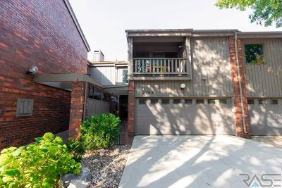 Sioux Falls Condo/Townhouse For Sale: 2703 S Ridgeview Way