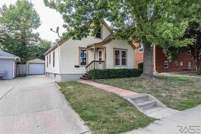 Sioux Falls Single Family Home For Sale: 221 S Menlo Ave