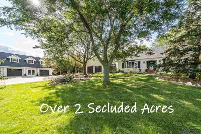 Sioux Falls Single Family Home For Sale: 8005 S Windswept Cir