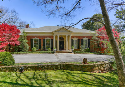 Lookout Mountain Single Family Home For Sale: 102 E Brow Rd