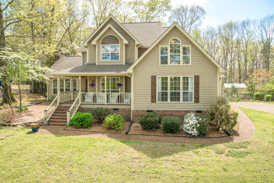 Soddy Daisy Single Family Home Contingent: 12313 Creek Hollow Ln