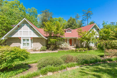 Signal Mountain Single Family Home Contingent: 22 Middle Creek Rd