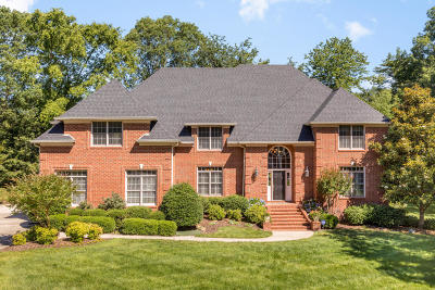 Signal Mountain Single Family Home For Sale: 16 Saint Ives Way