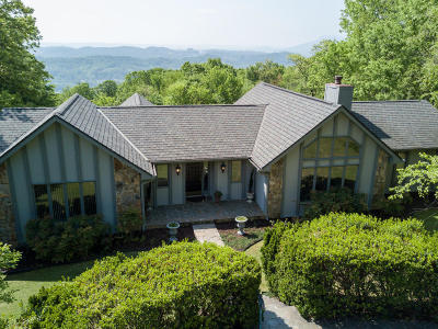 Signal Mountain Single Family Home For Sale: 1412 Sunset Dr