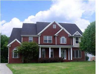 Ooltewah Single Family Home For Sale: 8494 Summit Hill Ct