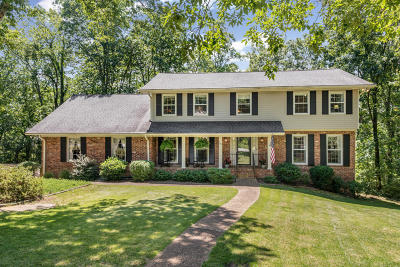 Signal Mountain Single Family Home For Sale: 110 Woodcliff Cir