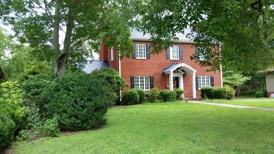 Etowah Single Family Home For Sale: 1323 Washington Ave