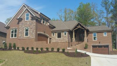 Chattanooga Single Family Home For Sale: 5951 Rainbow Springs Dr #Lot # 24