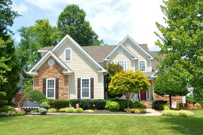 Ooltewah Single Family Home Contingent: 9135 Wandering Way