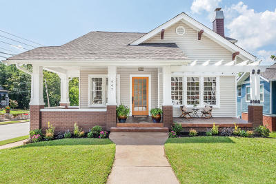 Chattanooga Single Family Home Contingent: 607 S Greenwood Ave