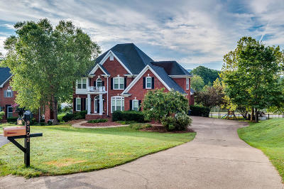 Ooltewah Single Family Home Contingent: 9702 Cloverleaf Pl