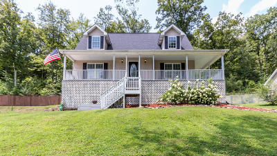 Soddy Daisy Single Family Home Contingent: 10717 Dallas Hollow Rd
