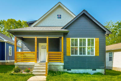 Chattanooga Single Family Home For Sale: 1606 E 13th St