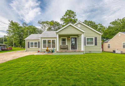 Chattanooga Single Family Home Contingent: 4303 Kemp Dr