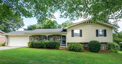 Chattanooga Single Family Home For Sale: 7317 Kenmoor Ln