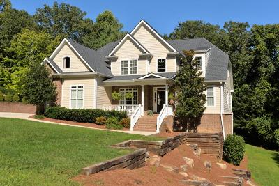 Lookout Mountain Single Family Home For Sale: 417 Fort Trace Dr