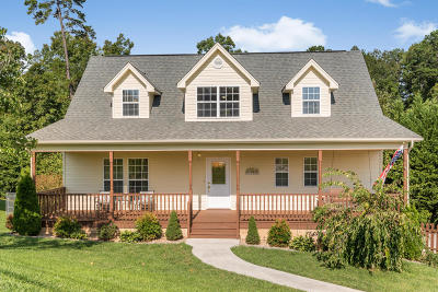 Soddy Daisy Single Family Home Contingent: 9949 Rolling Wind Dr