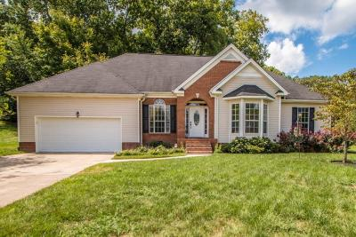 Ooltewah Single Family Home Contingent: 8330 Shadetree Ln