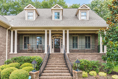 Signal Mountain Single Family Home For Sale: 3219 Cloudcrest Tr