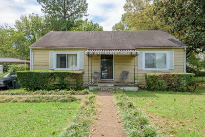 Chattanooga Single Family Home For Sale: 2002 Bragg St
