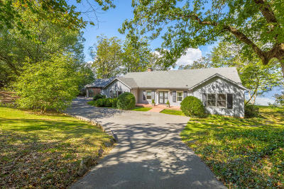 Lookout Mountain Single Family Home For Sale: 254 Frontier Bluff Rd