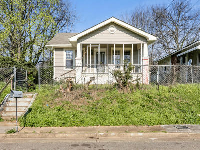 Chattanooga Single Family Home For Sale: 1211 Sholar Ave