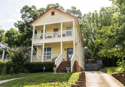 Chattanooga Single Family Home Contingent: 512 Hamilton Ave