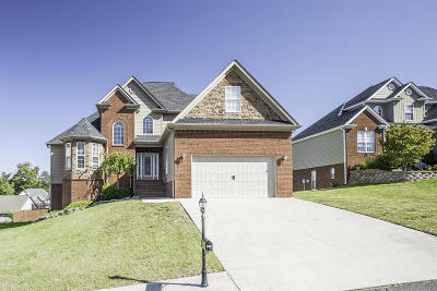 Ooltewah Single Family Home Contingent: 7649 Duskview Ct