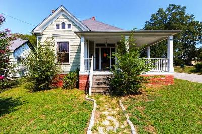 Chattanooga Single Family Home For Sale: 1517 E 13th St