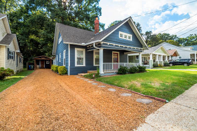 Chattanooga Single Family Home For Sale: 1132 Dartmouth St