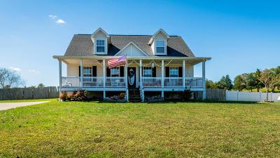 Dayton Single Family Home For Sale: 205 Oak Hill Estates Rd
