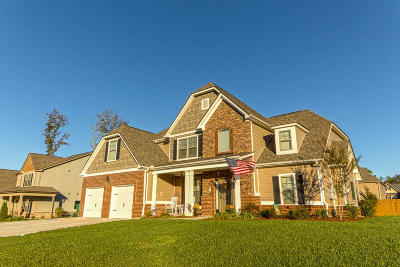 Ooltewah Single Family Home Contingent: 7472 Red Poppy Dr