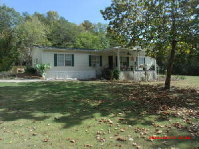 Marion Single Family Home For Sale: 610 Chance Rd