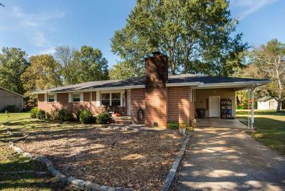 Hixson Single Family Home For Sale: 7619 W Clearwater Rd
