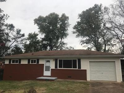 Ringgold Single Family Home For Sale: 184 Carrol Dr