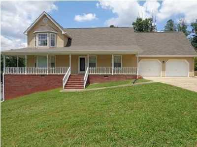 Ringgold Single Family Home For Sale: 866 Lee Dr