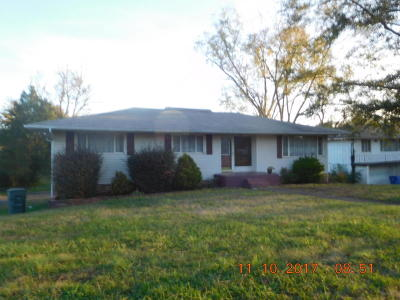 Chattanooga TN Single Family Home For Sale: $130,000