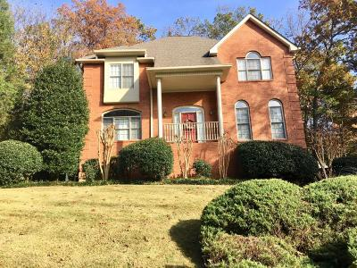Ooltewah Single Family Home For Sale: 1408 Woodway Dr