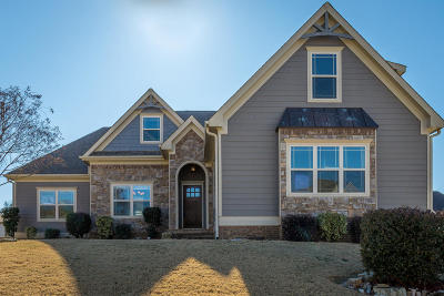 Ooltewah Single Family Home For Sale: 8862 Seven Lakes Dr
