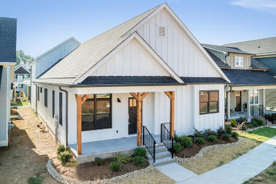 Chattanooga Single Family Home For Sale: Alabama Ave #54