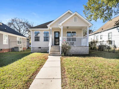 Chattanooga Single Family Home For Sale: 2212 E 12th St