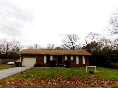 Chattanooga Single Family Home For Sale: 6314 Rosemary Dr