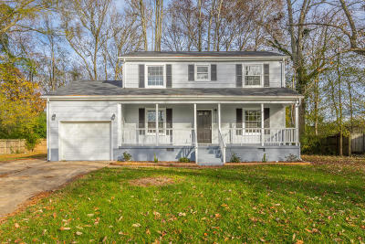Chattanooga Single Family Home For Sale: 1366 Ridgefield Cir