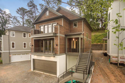 Chattanooga Single Family Home Contingent: 114 Parapet Tr