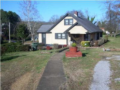 Chattanooga Single Family Home For Sale: 1803 Tunnel Blvd
